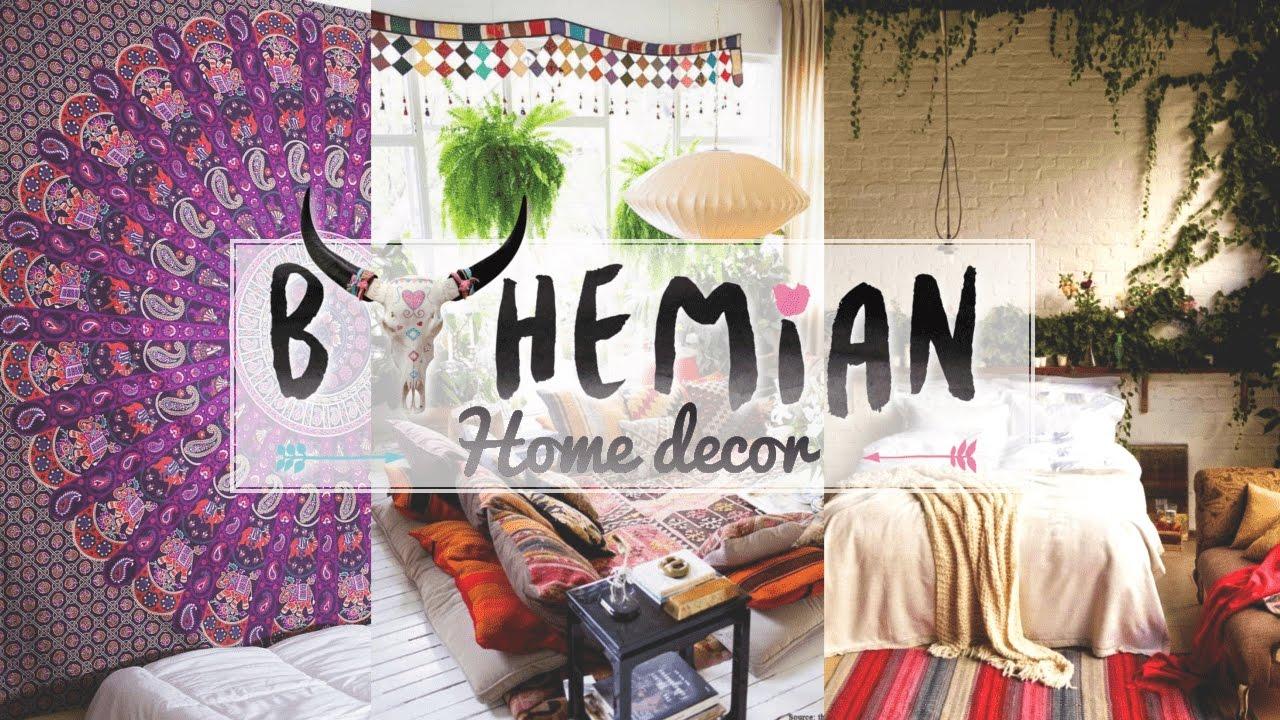 5 Bohemian Home D Cor Ideas Youtube