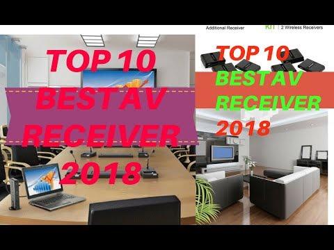 Top 10 Best av receiver 2018