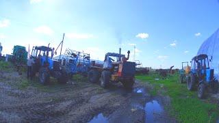 71-Д.(2С.).Ржачный ремонт Т-150К''Ихтиандра'',промывка фильтра КПП.