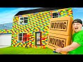 MOVING IN To My LIFE SIZE Lego House!