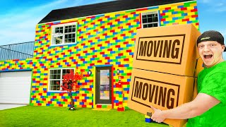 Download MOVING IN To My LIFE SIZE Lego House!
