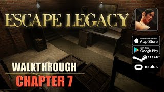 Escape Legacy Chapter 7 Walkthrough Ancient Scrolls Level 7 iOS/Android/PC/Oculus/Cardboard 3D VR HD