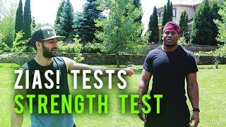 OpTic Strength: ZIAS TESTS THE FIT TEST!