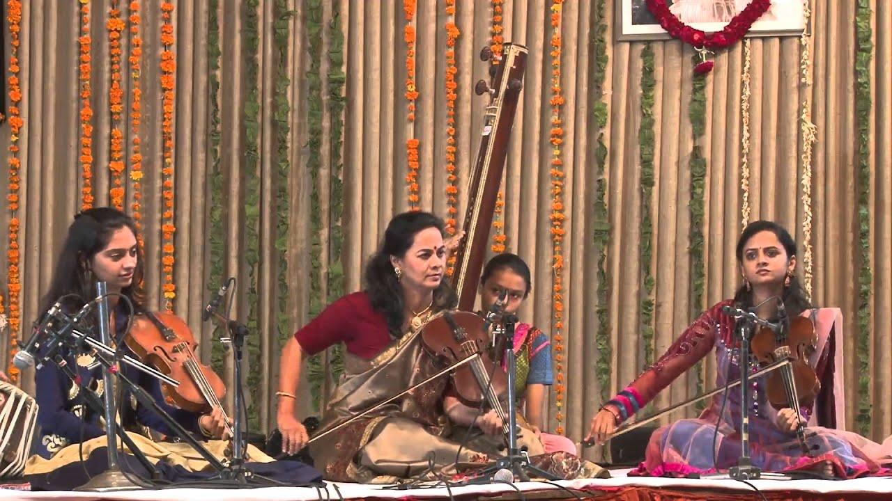 Saptak Annual Music Festival - 2015 : (Sangeeta & Nandini Shankar - Violin)