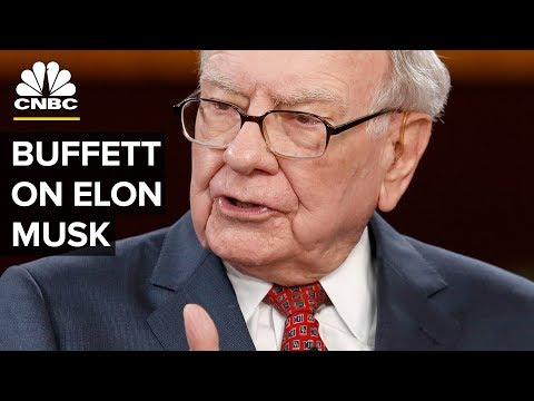 Warren Buffett: I've Never Said Anything Negative About Elon Musk   CNBC