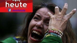 WM heute, Tag XXVIII: Die Emotionen während und nach dem 1:7 gg. Brasilien