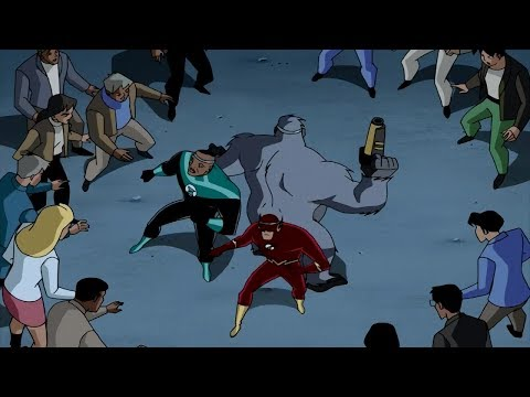Flash, Green Lantern and Solovar vs. Central City!