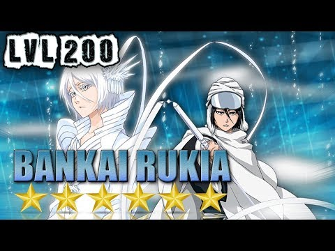 Bankai Rukia (Speed) 6★ LVL.200 Review/Gameplay [Bleach Brave Souls]