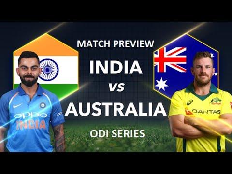 🔴 Live India Vs Australia 2nd ODI Match Preview   Short Discussion On MS Dhoni