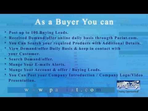 Online B2B Marketplace-www.paciat.com