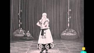 Primera pelicula cantada en español. Conchita Piquer (1923)