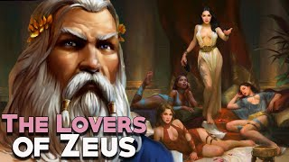 The Sad Stories Of Zeus Lovers - Greek Mythology Stories - See U In History