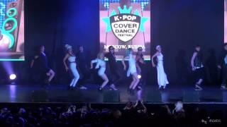 4MINUTE - Crazy dance cover by INSPIRIT Dance Group [K-POP Cover Dance fest 2015 (29.08.2015)]