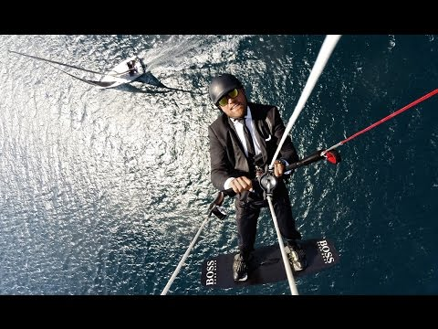 HUGO BOSS | The SkyWalk by Alex Thomson | Extreme Sailing #skywalk