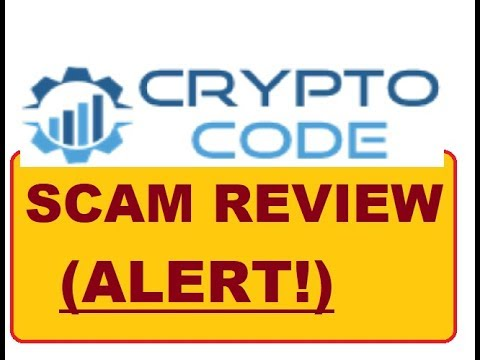 Crypto-Code and Bitcoin Code DANGEROUS SCAM!!! ALERT!!!!!