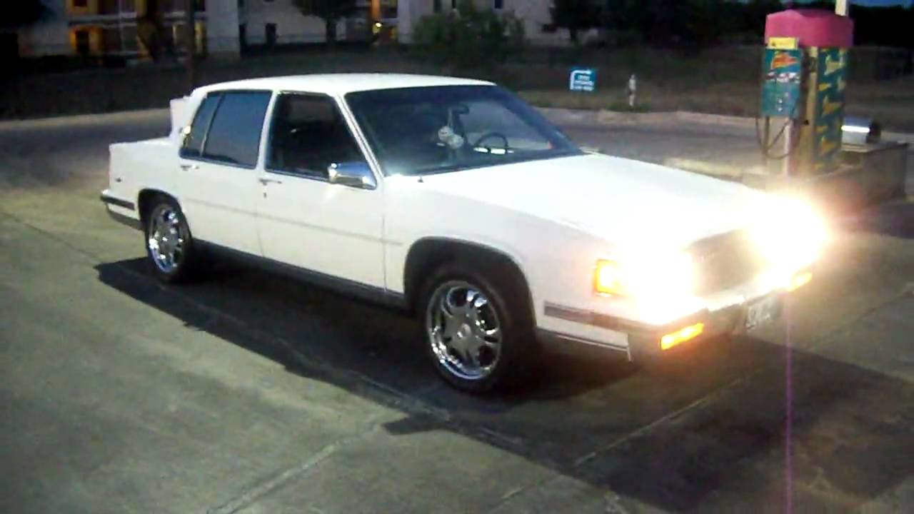 My 1988 Cadillac Sedan Deville ( SOLD ) Truly Missed!! - YouTube