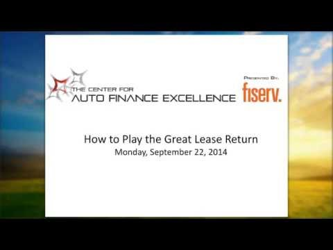 How to Play the Great Lease Return
