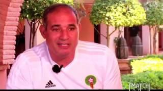 """""""بادو الزاكي"""" : راض عن آداء الفريق رغم الهزيمة"""