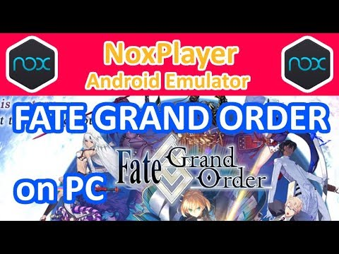 Play Fate/Grand Order (English) on PC using NoxPlayer