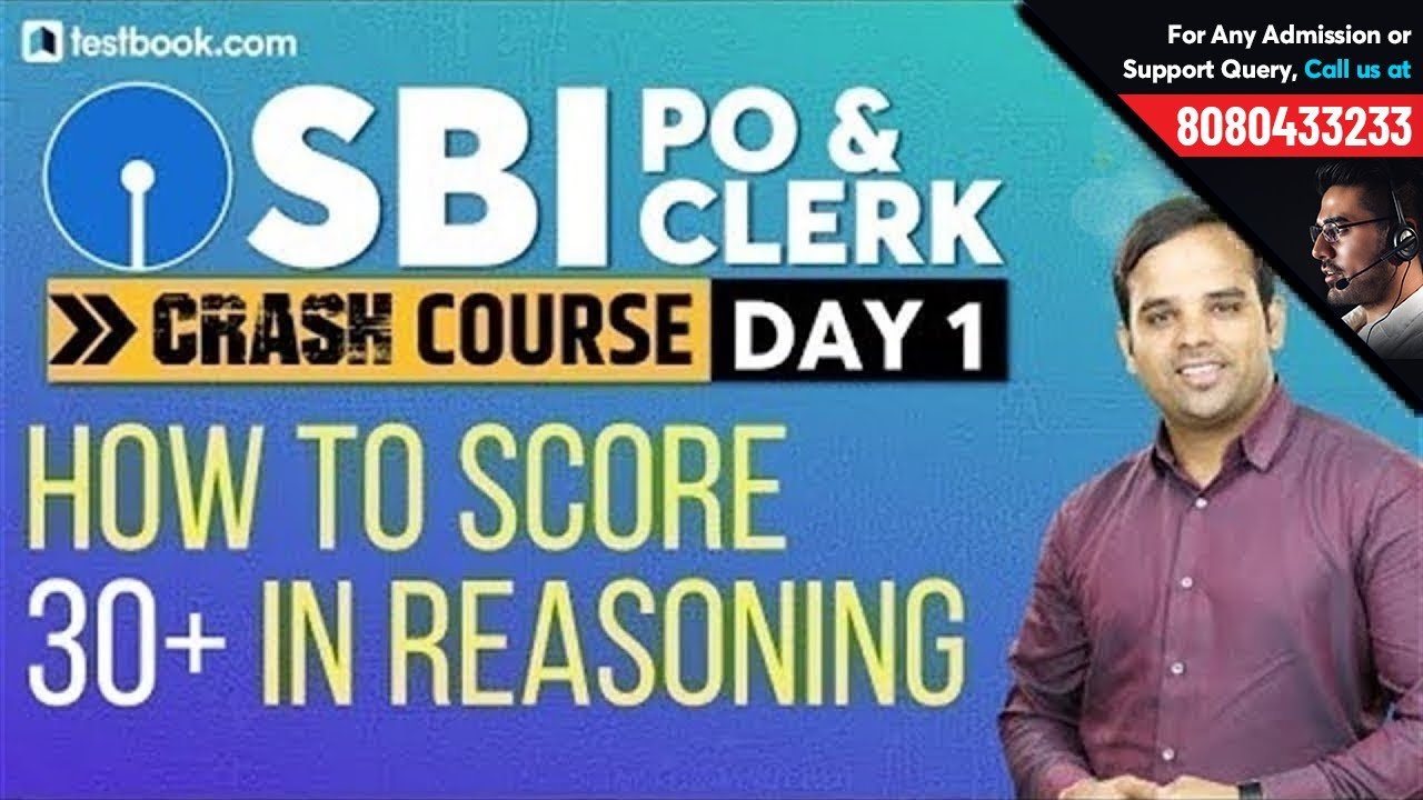 Strategy to Score Full Marks in SBI PO Reasoning | Crack SBI Clerk 2019 | SBI Crash Course Day 1