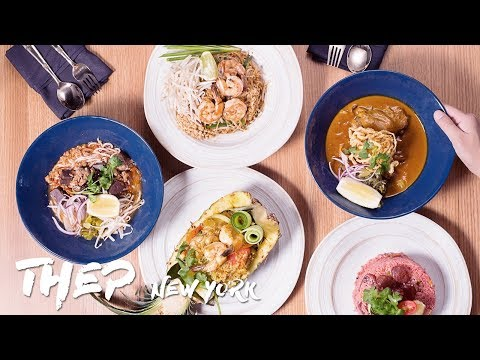 Best THAI FOOD in New York City // Thep Restaurant Upper East Side New York