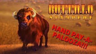 🤑SURPRISING😜 HAND PAY ON BUFFALO STAMPEDE SLOT MACHINE POKIE BONUS PECHANGA CASINO