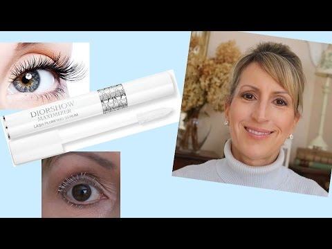 c103d51556c DIORSHOW MAXIMIZER LASH PLUMPING SERUM REVIEW - DOES IT WORK? - YouTube