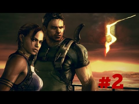 CRAZY AFRICANS - Resident Evil 5 - Coop Playthrough Part 2