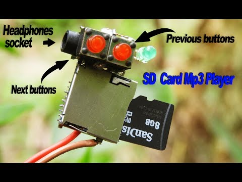 How to Make a SD card Mp3 Player_ very easy.