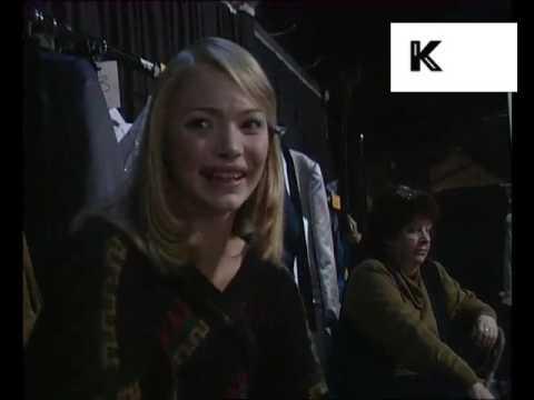 1990s 17 Year old Jodie Kidd Interview, Fashion, Model