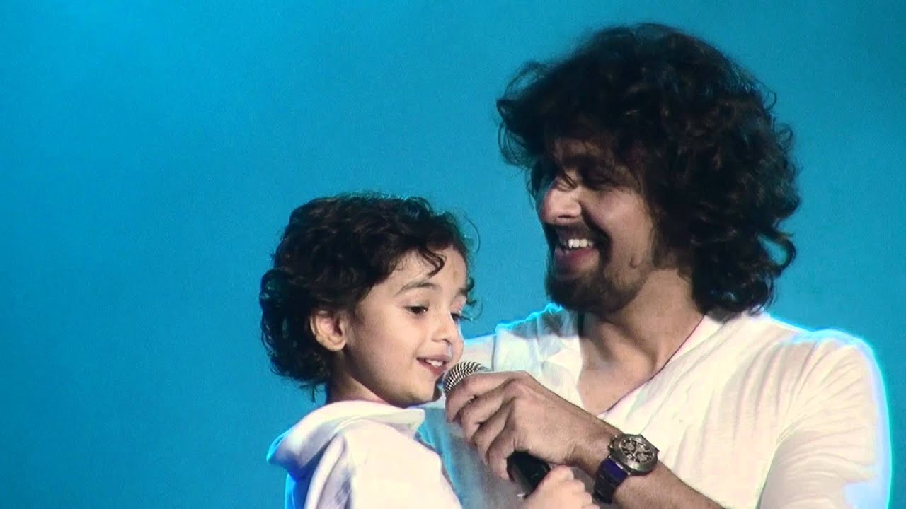 sonu nigam sings with son neevan nigam live san jose 2012 youtube. Black Bedroom Furniture Sets. Home Design Ideas