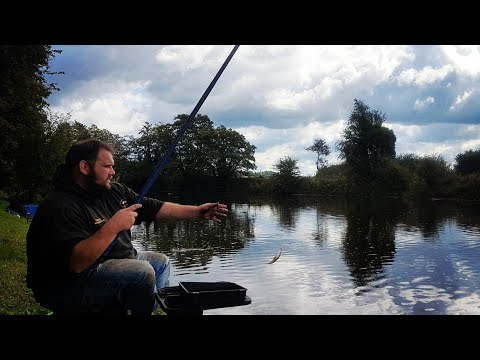 Whip Fishing On Rivers With Ground Bait