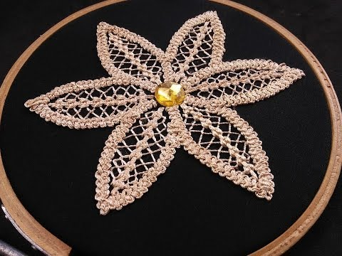 Hand Embroidery - Fantasy Flower Stitch