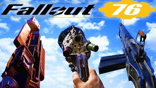 Fallout 76 - All Weapons / Gun Sounds  [2019]