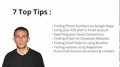How to find someone's contact details | Sourcing