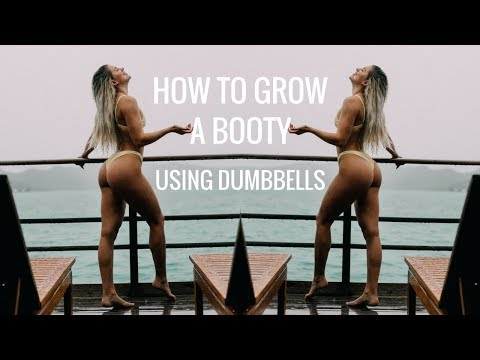grow-a-booty-using-only-dumbbells!