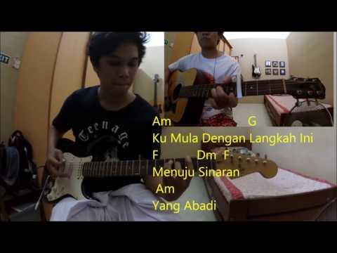 cara main gitar Kristal - Memburu Impian (chords + lirik + cover)