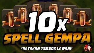 KEKUATAN 10 SPELL GEMPA - CoC Indonesia