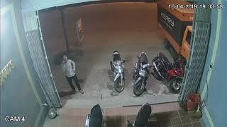 Trộm xe bất thành ngày 4/10/2019
