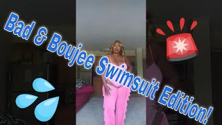 Bad & Boujee haul FashionNova/AliExpress Swimsuit Edition Shareen Nicole