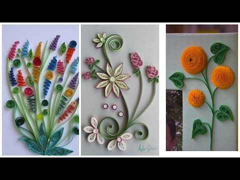 quilling-paper-art-craft-ideas-for-wall-decor