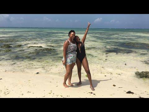 Mombasa vlog  Beaches, tan lines and fun 💃🏾