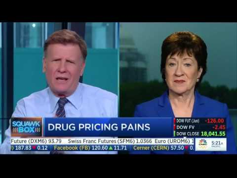 Senator Collins Joins Squawk Box to Discuss the Aging Committee