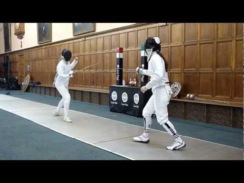 Varsity 2012 Fencing Oxford - Cambridge (Women's 2nds)