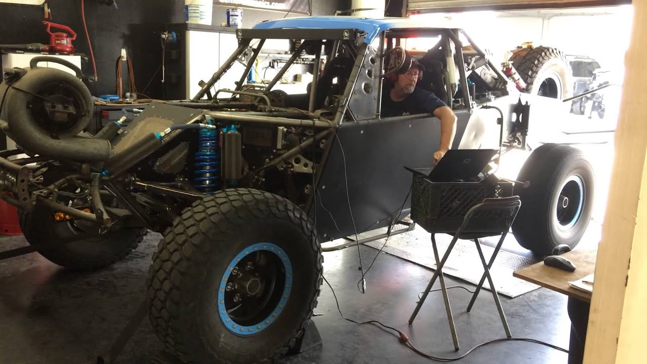 LSX TROPHY TRUCK chassis Dyno tuning session CPRENGINES - YouTube