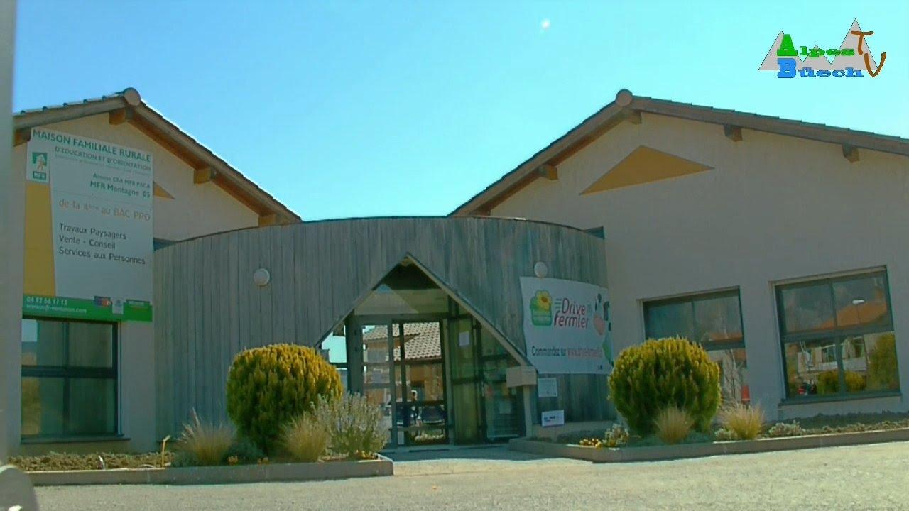 Reportage : Portes ouvertes à la Maison Familiale Rurale de Ventavon - YouTube
