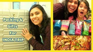 Packing And Gifts For Family In India I Gifts To India From Canada I Indian Mom Vlogger In Canada
