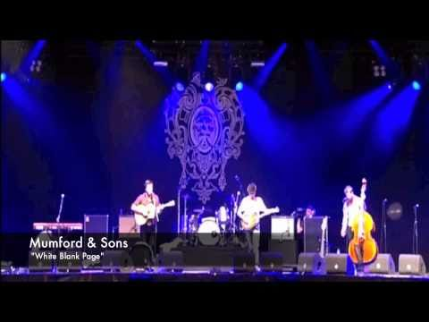 Mumford & Sons - White Blank Page - LIVE @ Lowlands 2010