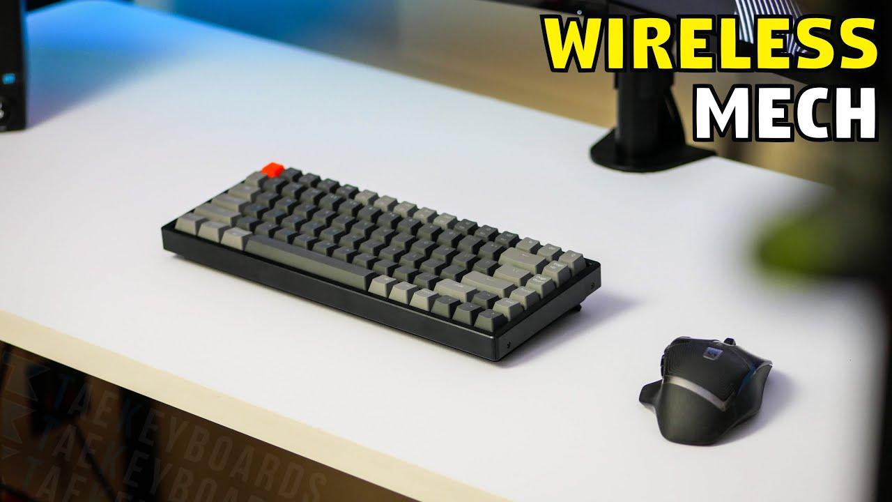Keychron K2 – A Clean Wireless Mechanical Keyboard