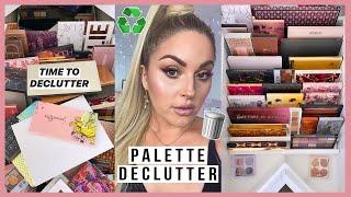 Neutral Eyeshadow Palette Declutter ?? HUGE MAKEUP ORGANISATION 2020